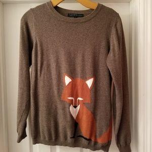 Brown Fox Sweater